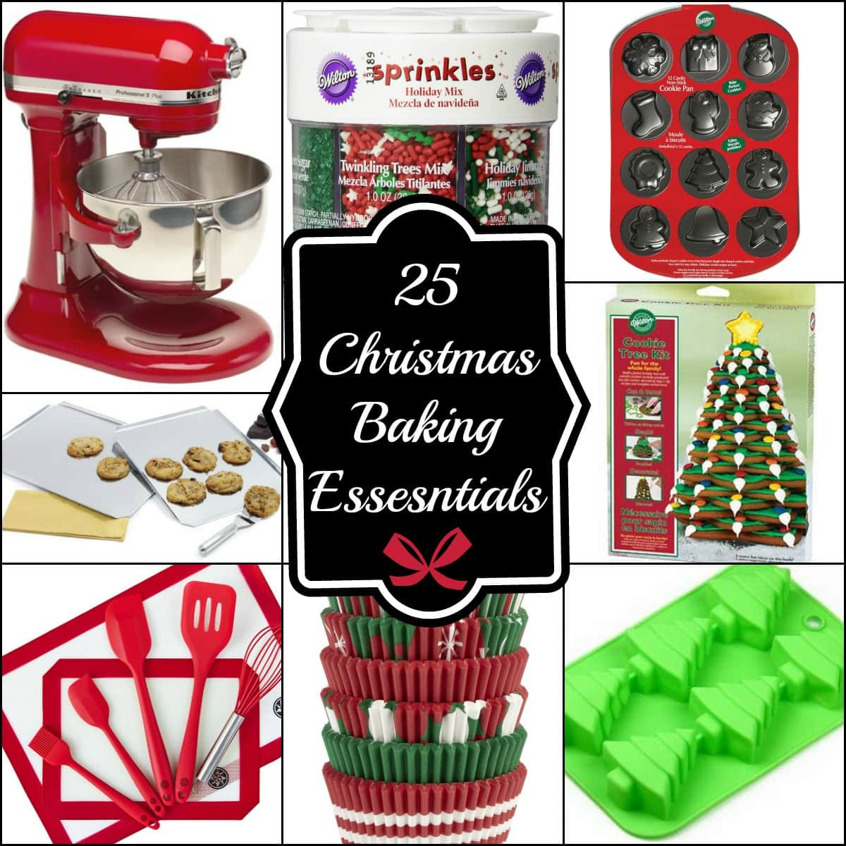 Christmas Baking Gift Ideas  25 Christmas Baking Essentials and Baking Gift Ideas