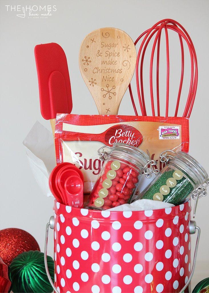 Christmas Baking Gifts  Best 20 Baking Gift Baskets ideas on Pinterest