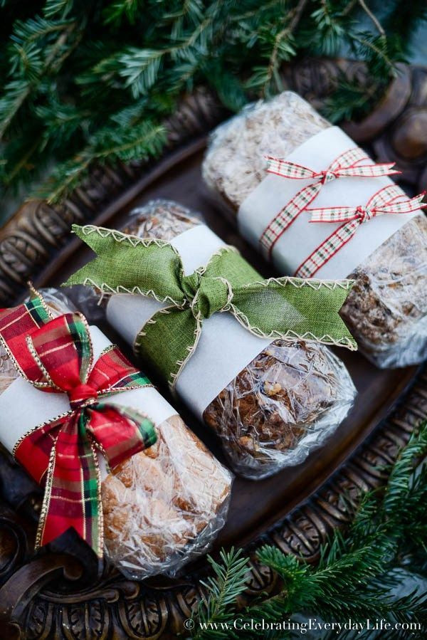 Christmas Baking Gifts  How to Wrap Baked Goods