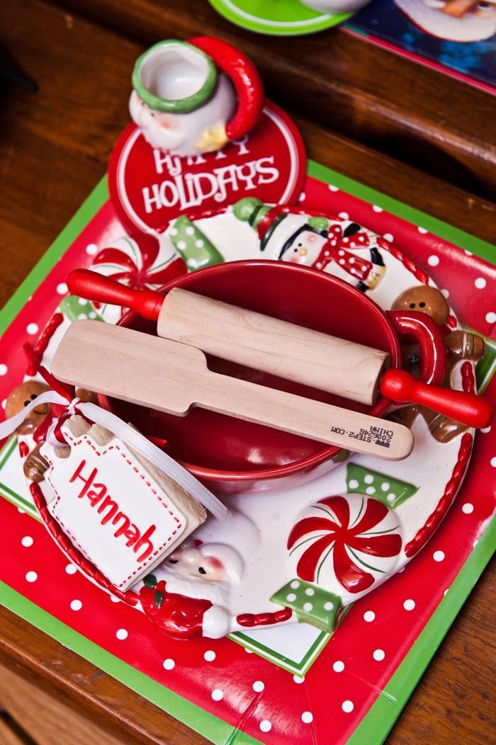 Christmas Baking Ideas  Kara s Party Ideas Santa s Kitchen Christmas Baking