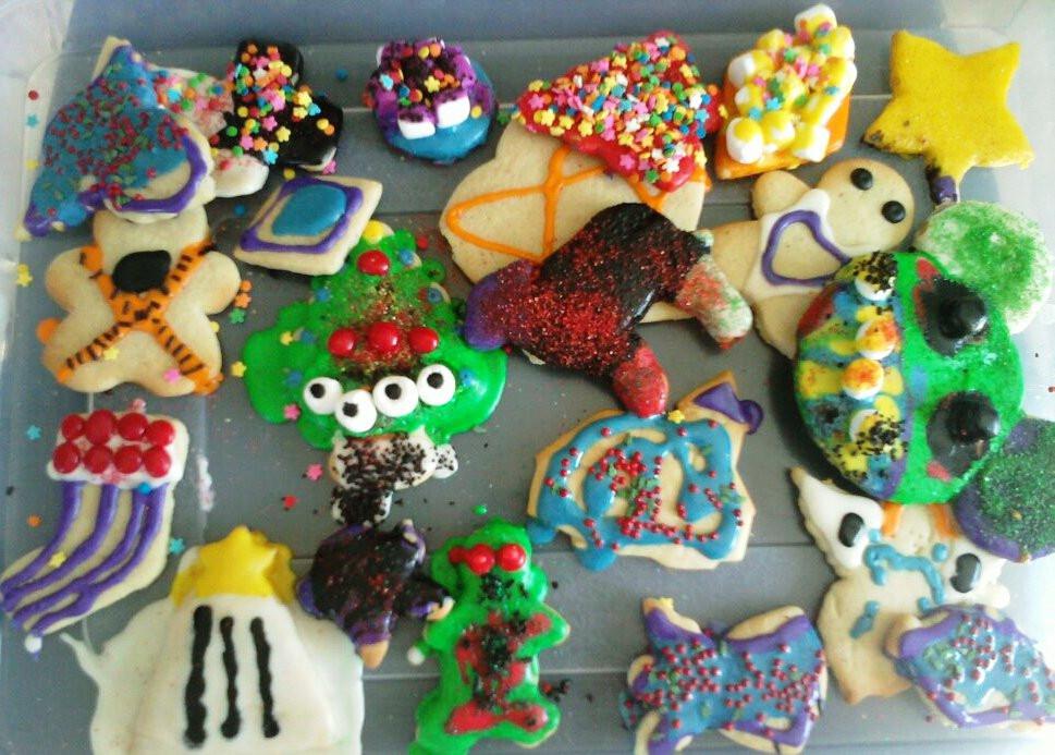 Christmas Baking Ideas For Kids  AimeeJo Desserts Neighborhood Kids Christmas Cookie
