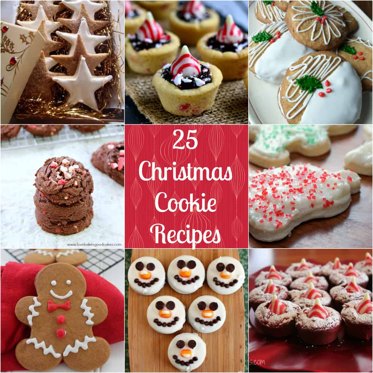 Christmas Baking Ideas  25 Christmas Cookie Recipes Love Pasta and a Tool Belt