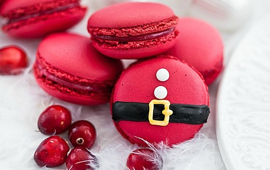 Christmas Baking Ideas  Santa Claus Desserts Decorated Christmas Desserts