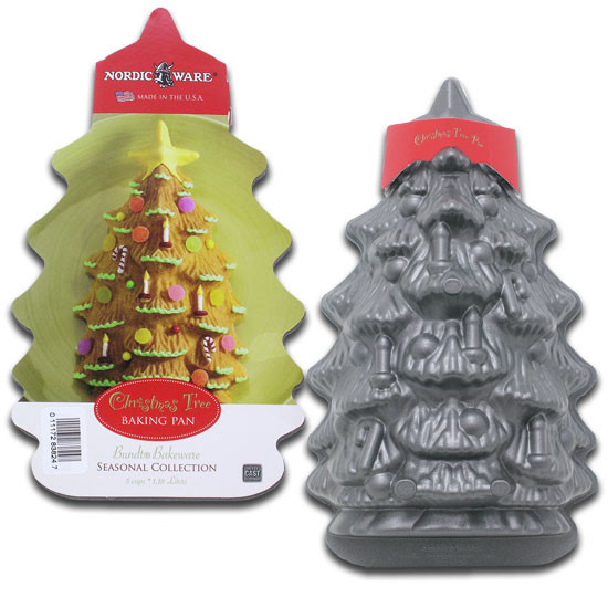 Christmas Baking Pans  Libra USA Christmas Tree Baking Pan