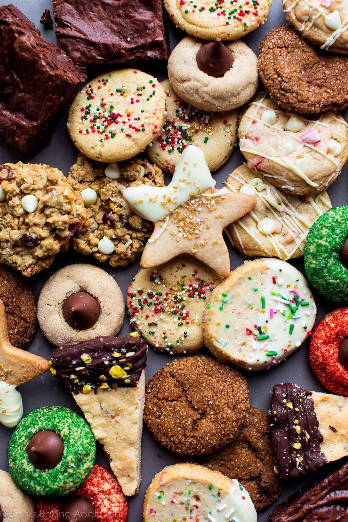 Christmas Baking Receipies  50 Fun and Festive Christmas Cookies