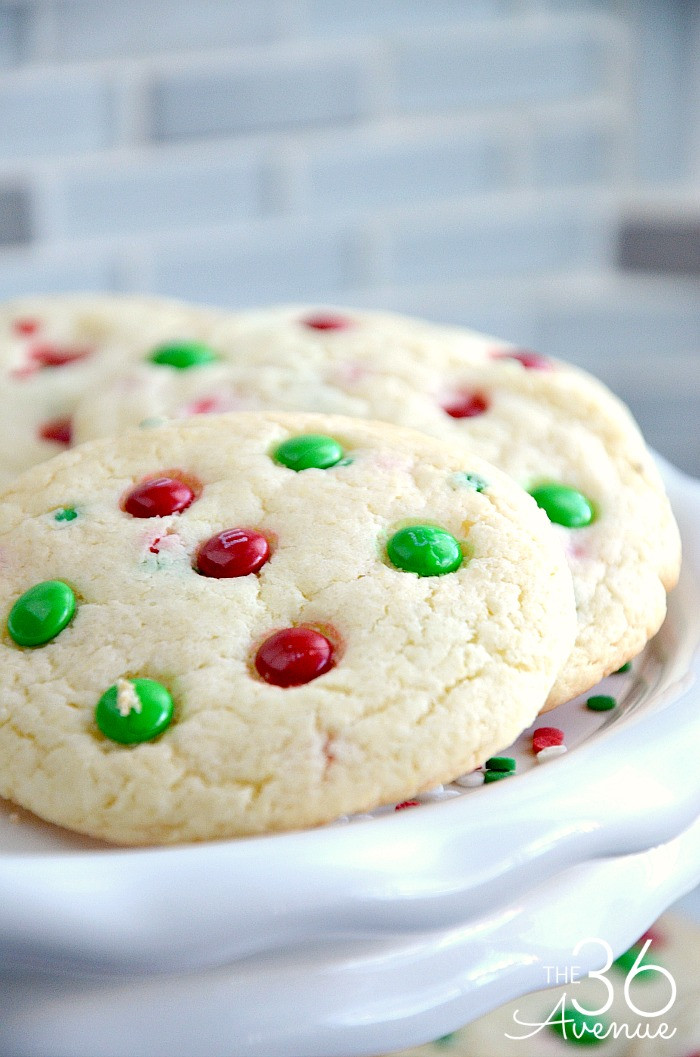 Christmas Baking Receipies  Christmas Cookies Funfetti Cookies The 36th AVENUE
