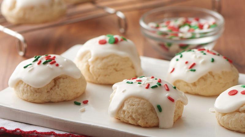 Christmas Baking Receipies  Easy Italian Christmas Cookies Recipe Pillsbury