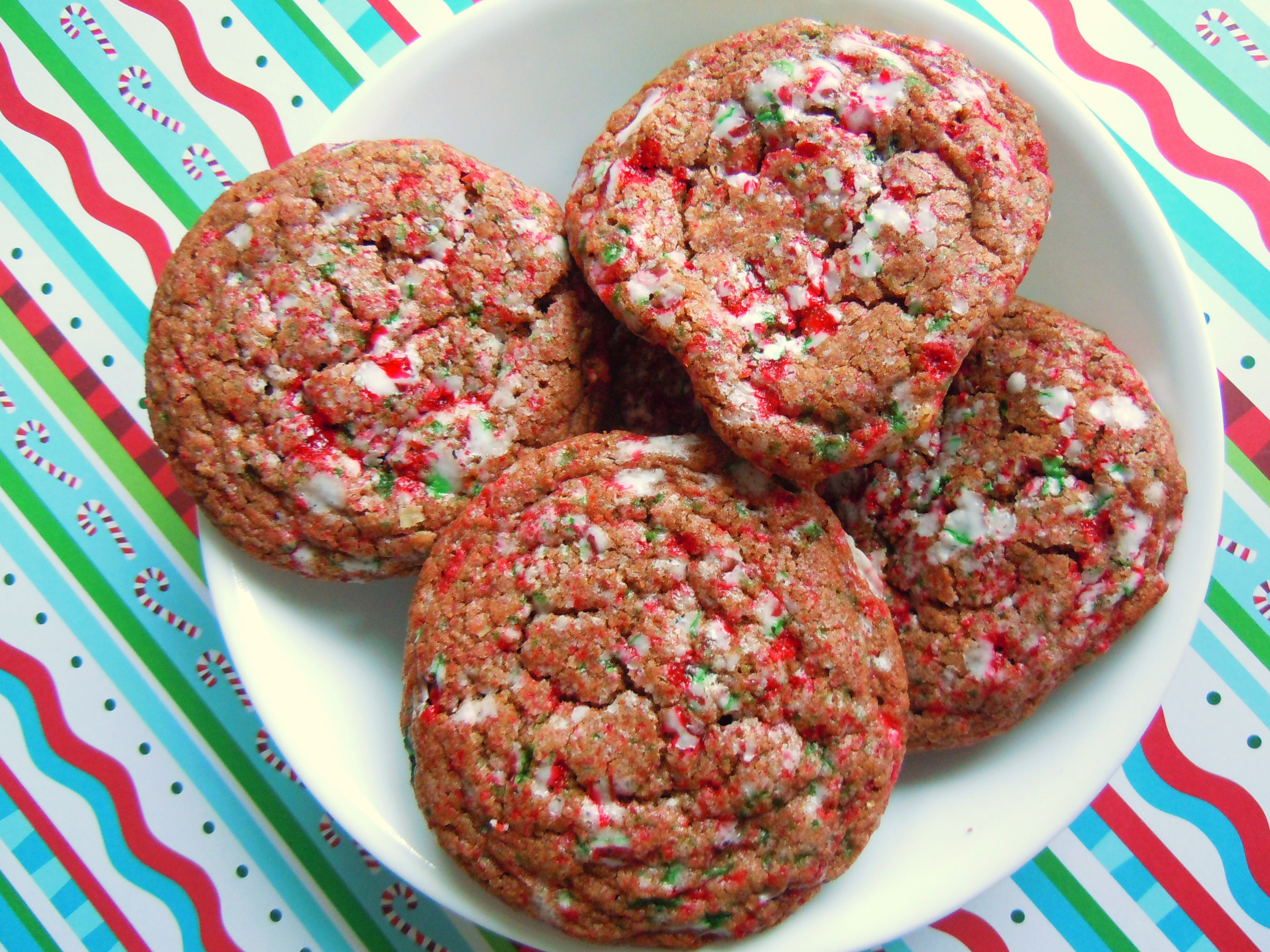 Christmas Baking Receipies  Christmas Cookie Baking Fun Crackled Chocolate Candy Cane