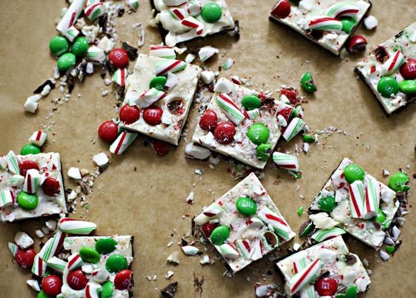 Christmas Bark Candy Recipes  Christmas Chocolate Bark [Week 10 of 12 Weeks of Cookies