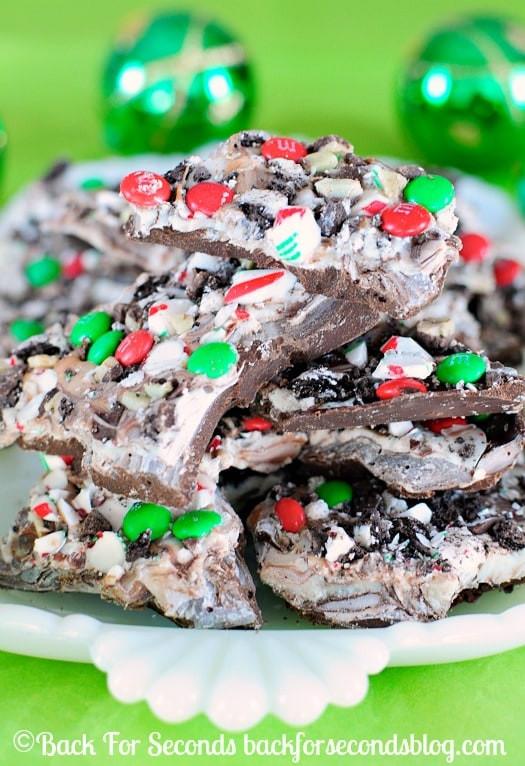 Christmas Bark Candy Recipes  Easy Christmas Bark Recipe Back for Seconds