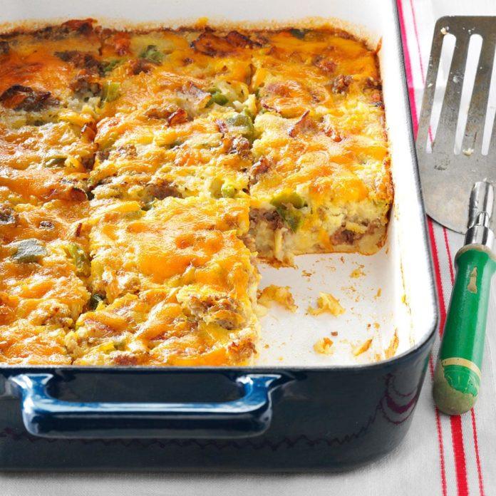 Christmas Breakfast Casserole Recipes  Holiday Brunch Casserole Recipe