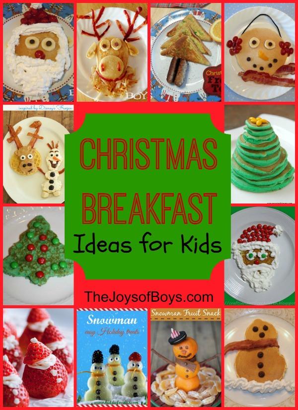 Christmas Breakfast For Kids  Snowman Pancakes Fun Christmas Breakfast The Joys of Boys
