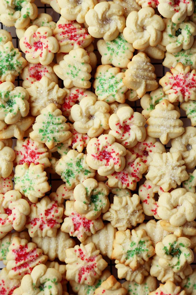 Christmas Butter Cookies  Holiday Danish Butter Cookies Recipe