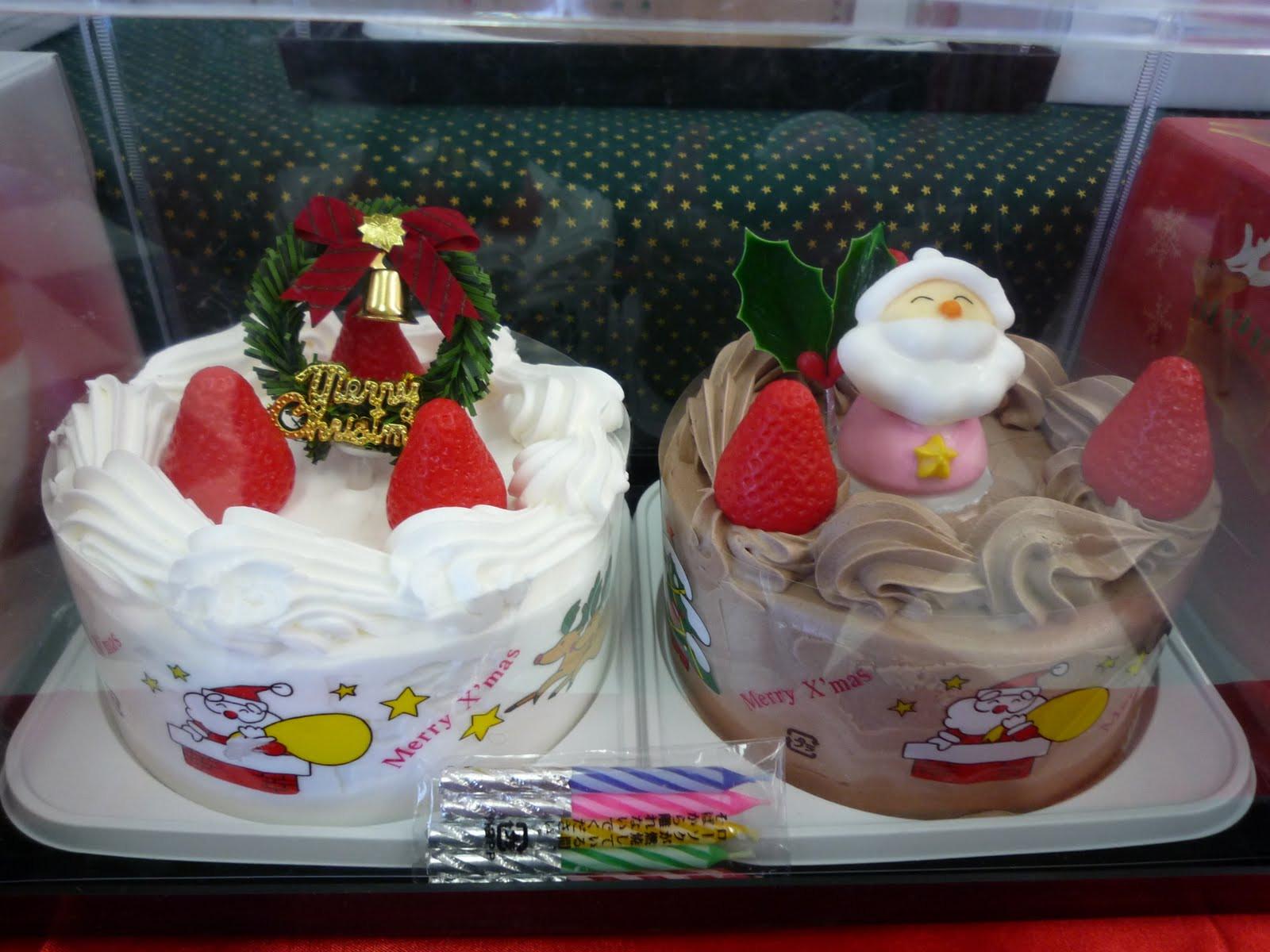 Christmas Cakes Japan  Chrstimas in Japan Yuu
