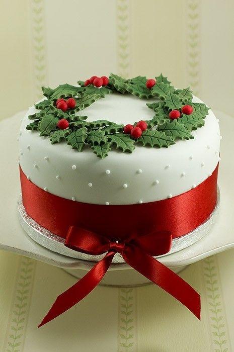 Christmas Cakes Pinterest  Christmas Christmas cake Christmas cakes