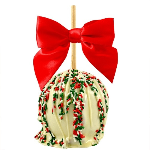 Christmas Candy Apple Ideas  475 best candy apples images on Pinterest