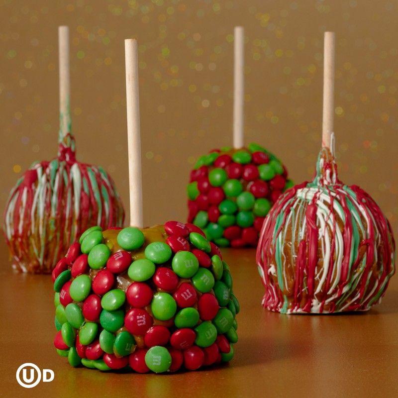 Christmas Candy Apple Ideas  christmas candy themes
