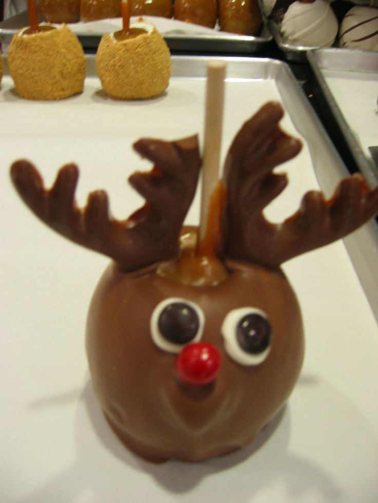 Christmas Candy Apple Ideas  best Christmas Holiday Season images on