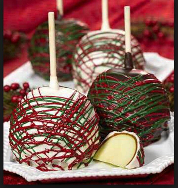 Christmas Candy Apple Ideas  Pin by Martha Ramirez on Kandy Apple Kraze