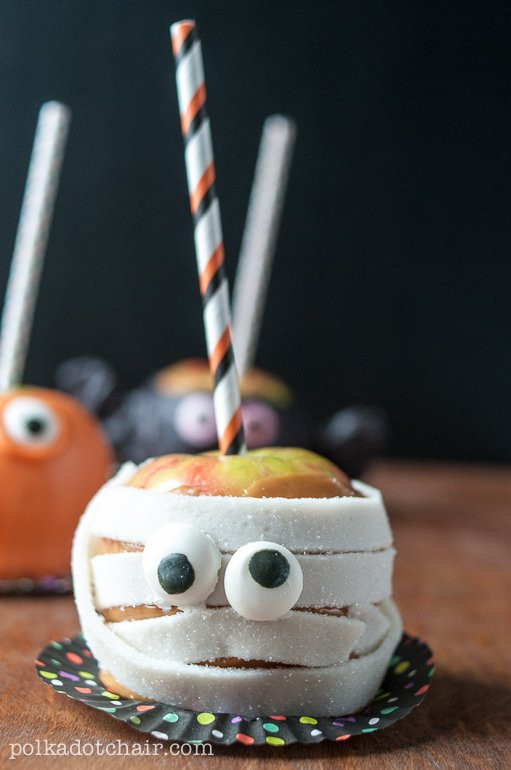 Christmas Candy Apple Ideas  Candy Apple Monsters Caramel Apple Decorating Ideas