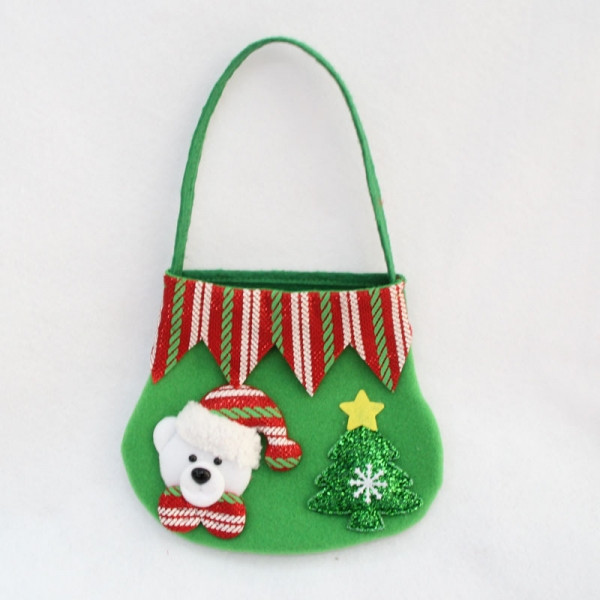 Christmas Candy Bags  Christmas Candy Bag Bear Gift Bag Fruit Candy Storage Bag