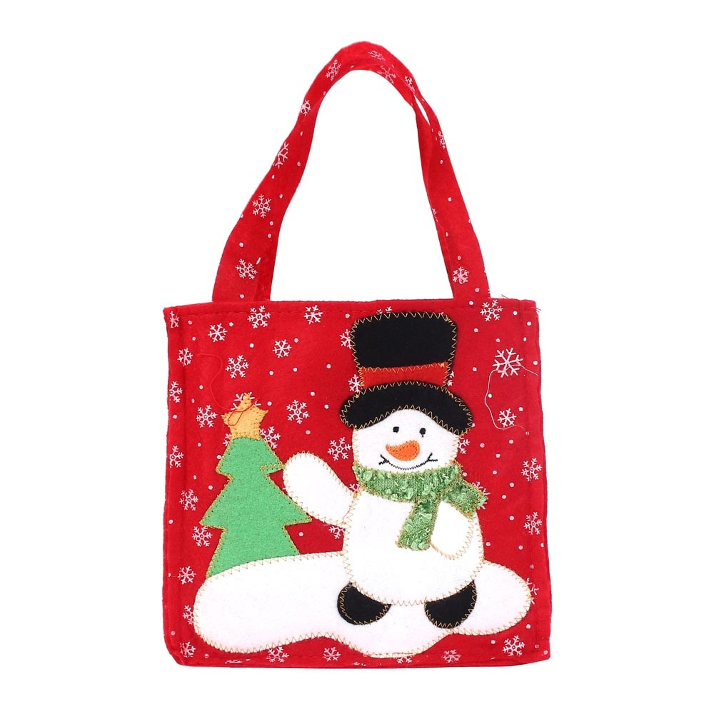 Christmas Candy Bags  New Qualified Santa Claus Gift Bags Merry Christmas Candy