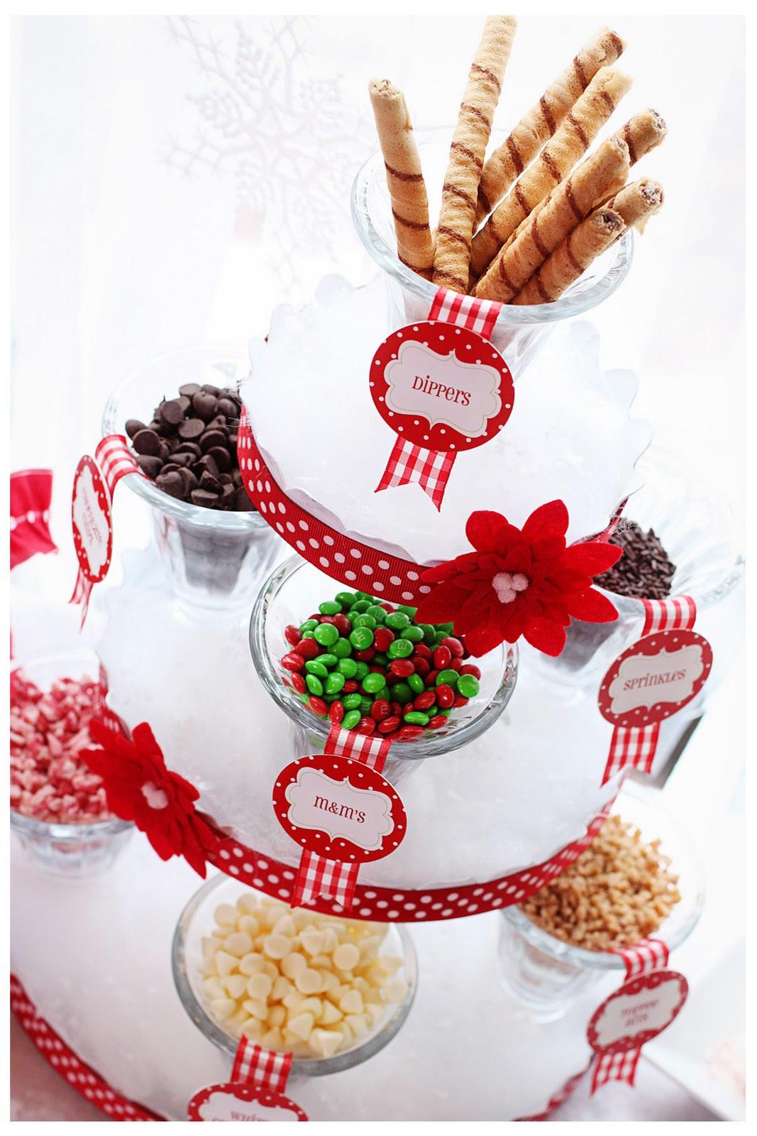 Christmas Candy Bar  Amanda s Parties To Go Hot Cocoa Bar Ideas