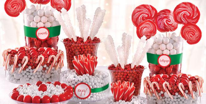 Christmas Candy Bar  The Twelve Desserts of Christmas LADYHATTAN