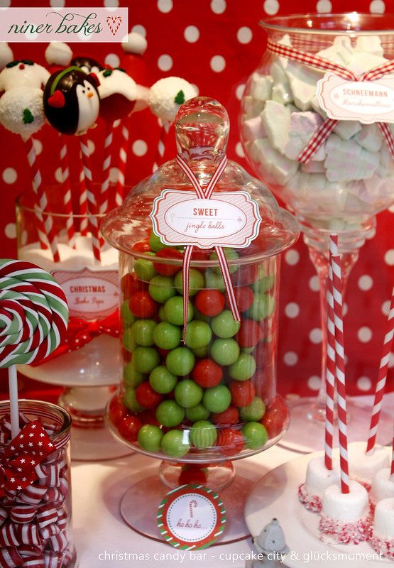 Christmas Candy Bar  Die Weihnachtszeit hat begonnen Weihnachts Candy Bar