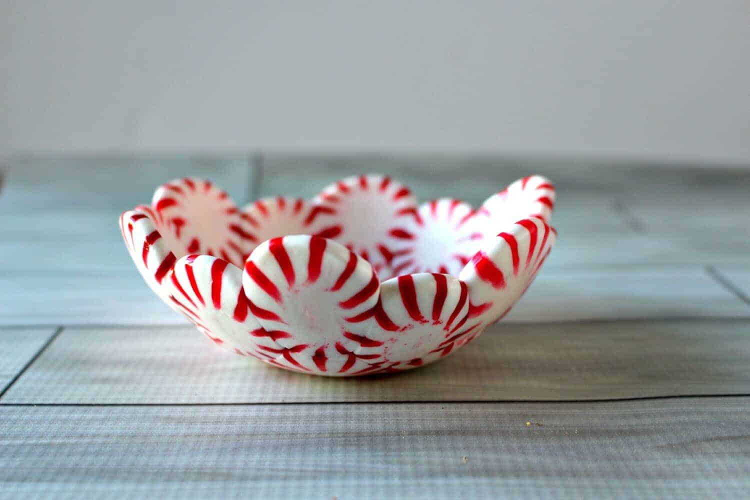 Christmas Candy Bowl  DIY Peppermint Candy Bowls Princess Pinky Girl