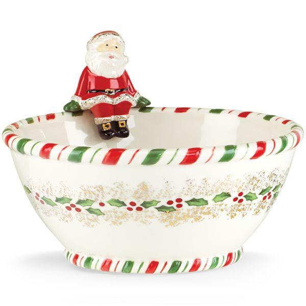 Christmas Candy Bowl  kathy ireland Christmas Candy Bowl