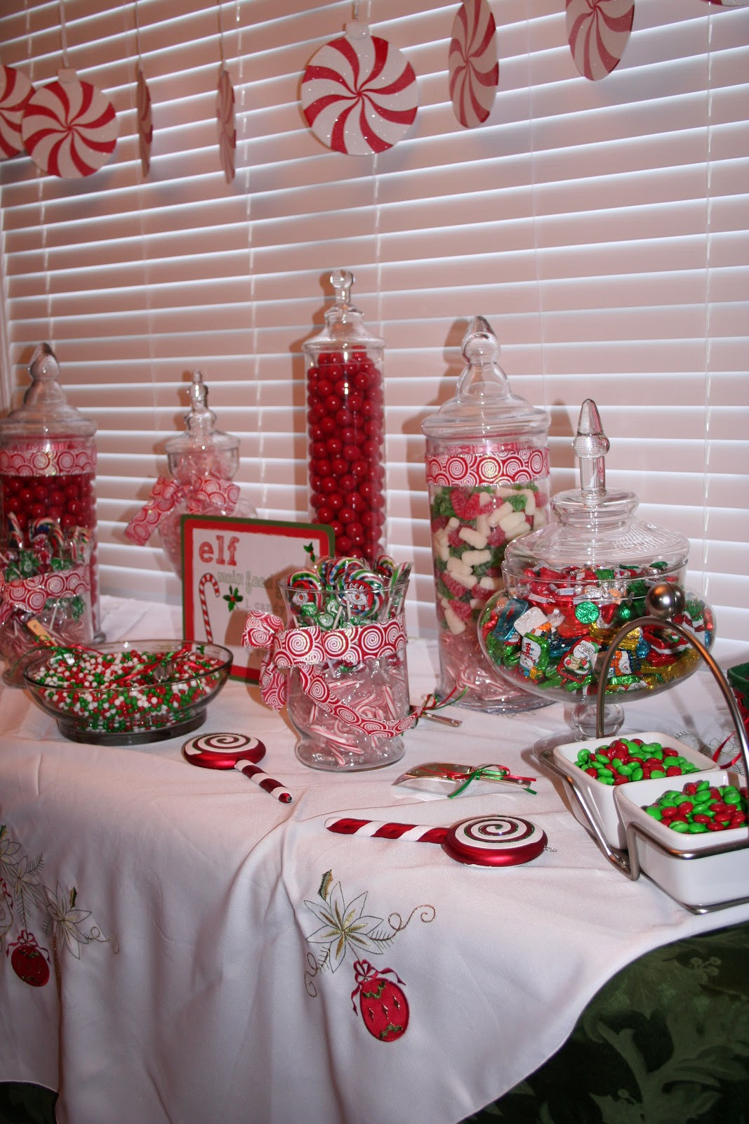 Christmas Candy Buffett  Classic Events By Kris Christmas Candy Buffet