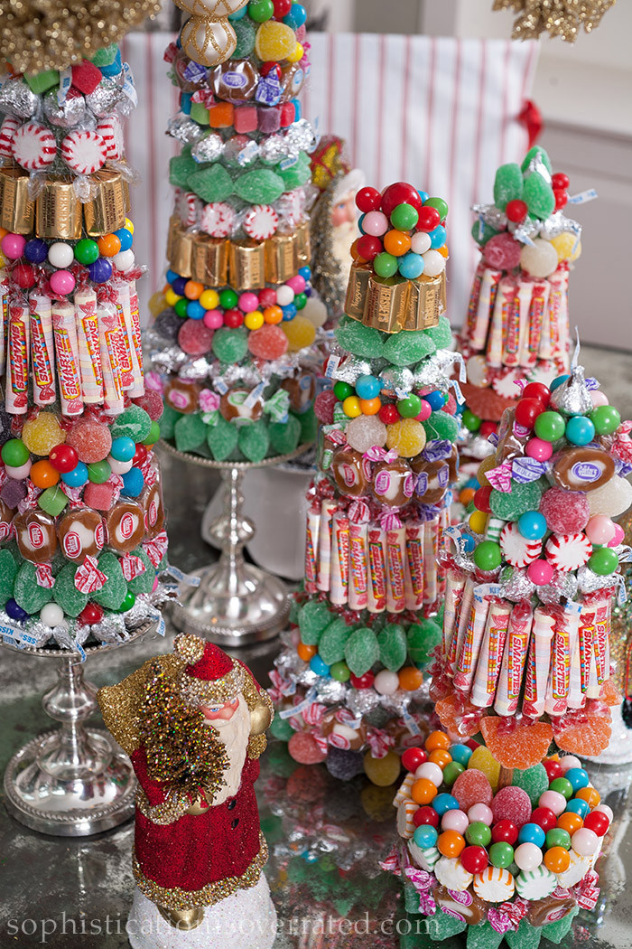Christmas Candy Centerpieces  The Pink Pagoda Sophistication is Overrated in its Second