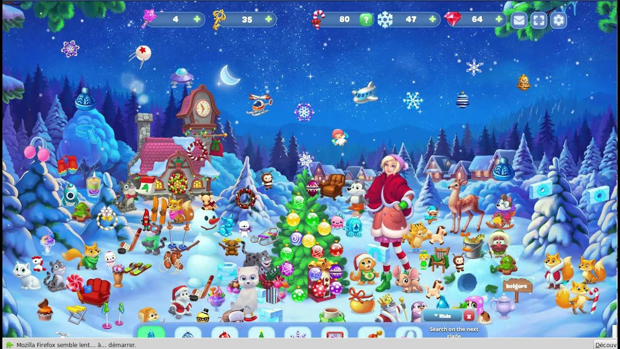 Christmas Candy Crush  Magic Seasons Christmas Candy Crush