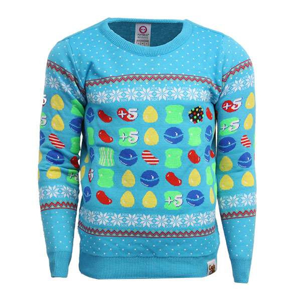 Christmas Candy Crush  Candy Crush Christmas Jumper Sweater Numskull
