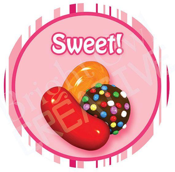 Christmas Candy Crush  Printable Candy Crush Saga Stickers by
