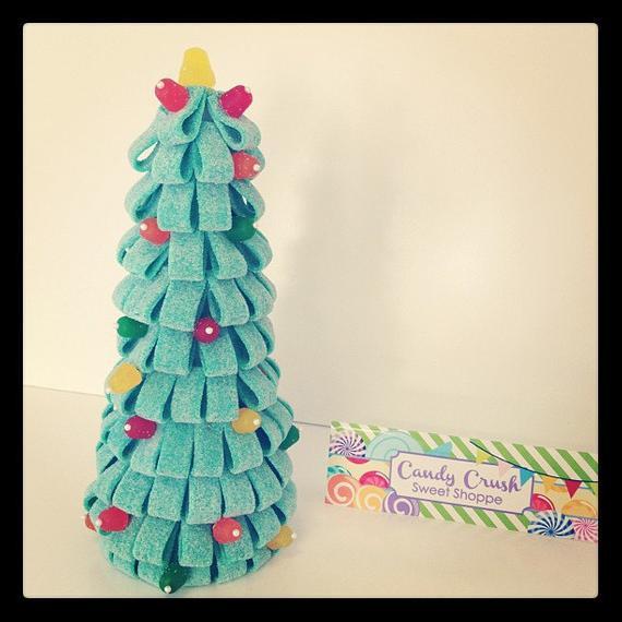 Christmas Candy Crush  Il concorso del salottino di Dicembre Alberi di Natale