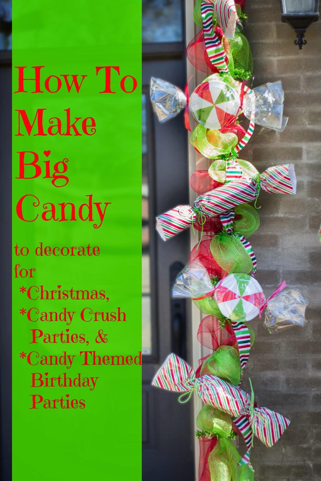 Christmas Candy Crush  Make Big Candy Decorations