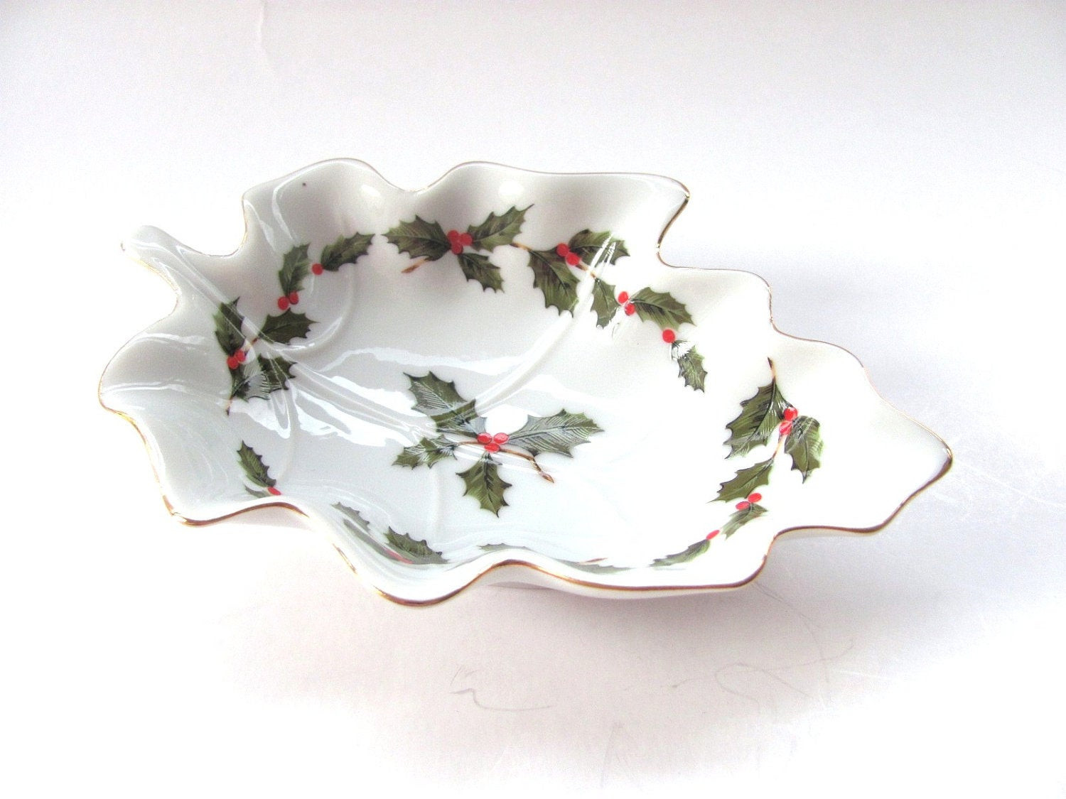 Christmas Candy Dish  Unavailable Listing on Etsy
