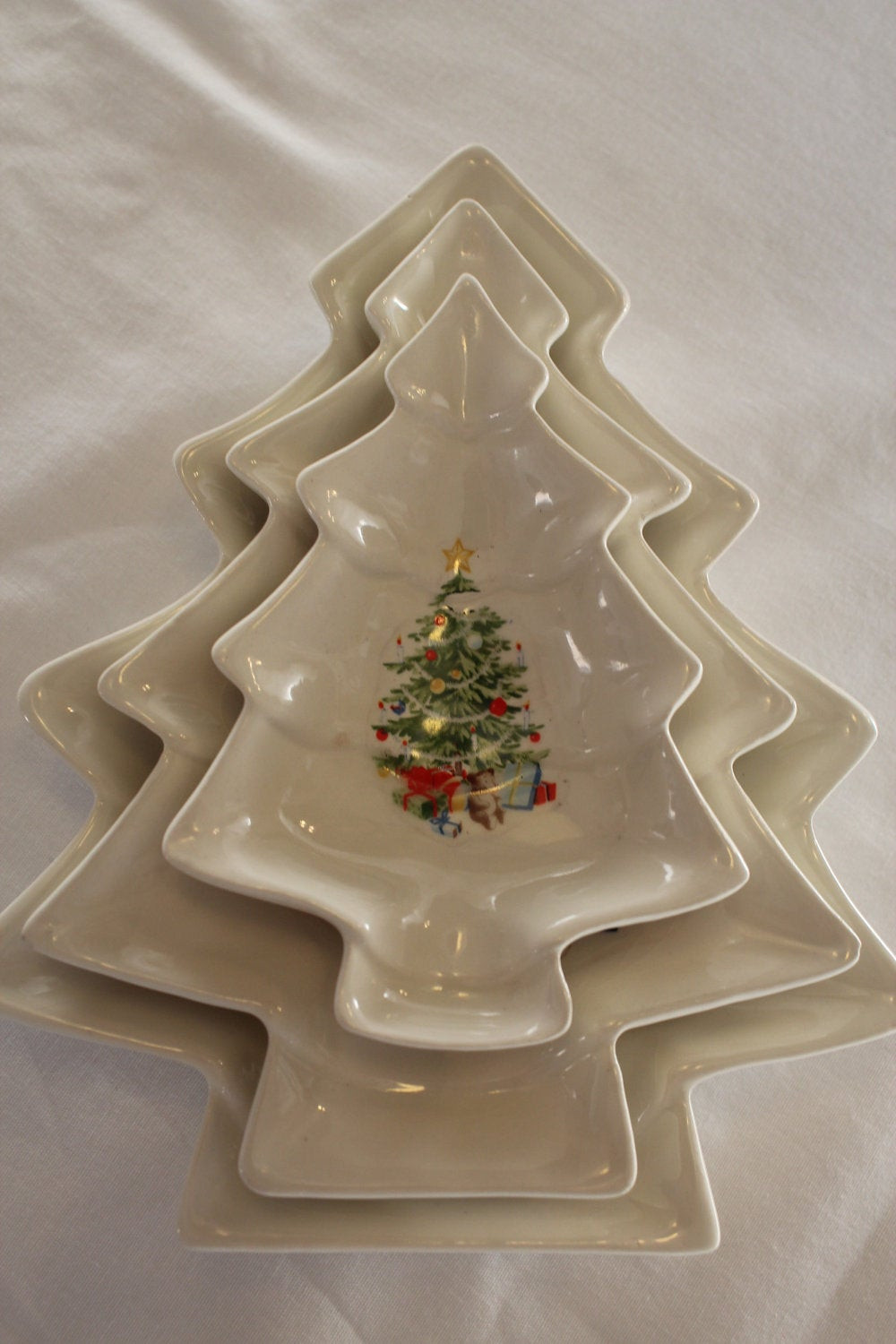 Christmas Candy Dish  Vintage Christmas Candy Dishes