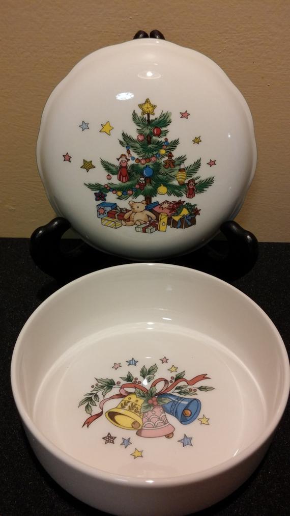 Christmas Candy Dish  Nikko Christmas Candy Dish