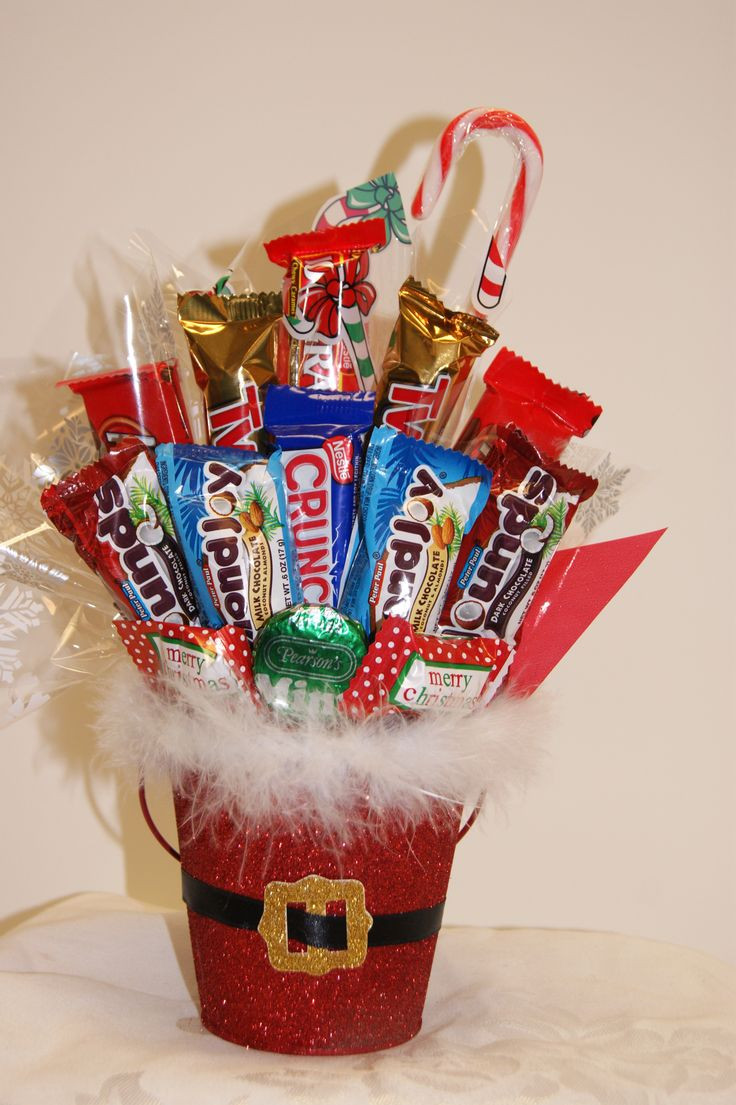 Christmas Candy For Kids  1000 ideas about Candy Bouquet on Pinterest