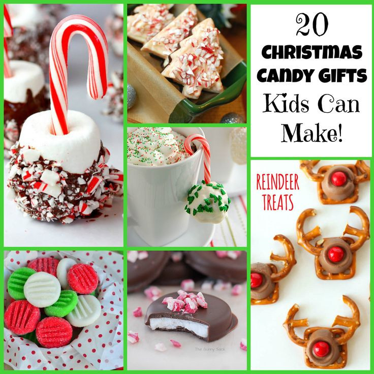 Christmas Candy For Kids  20 Christmas Candy Gifts Kids Can Make