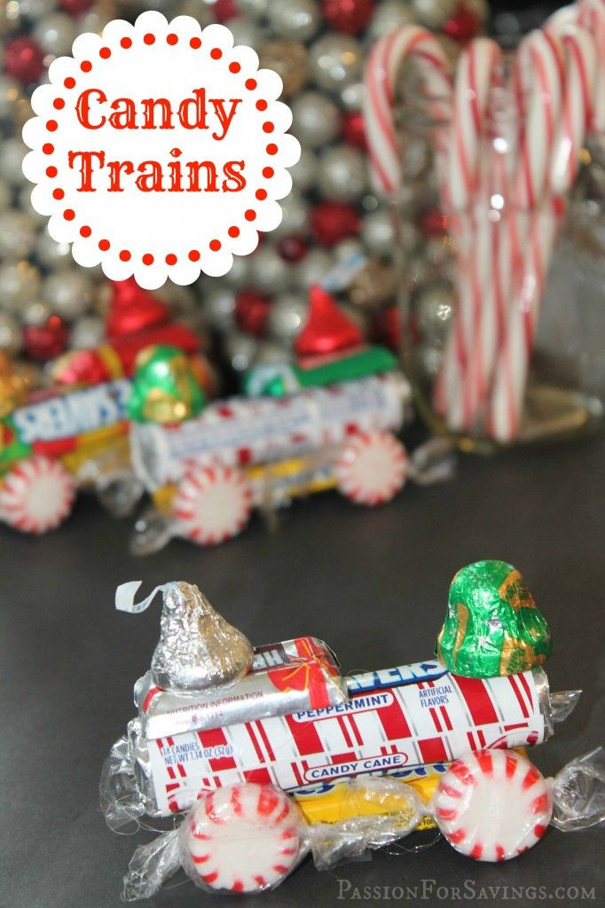 Christmas Candy For Kids  Best 25 Candy train ideas on Pinterest