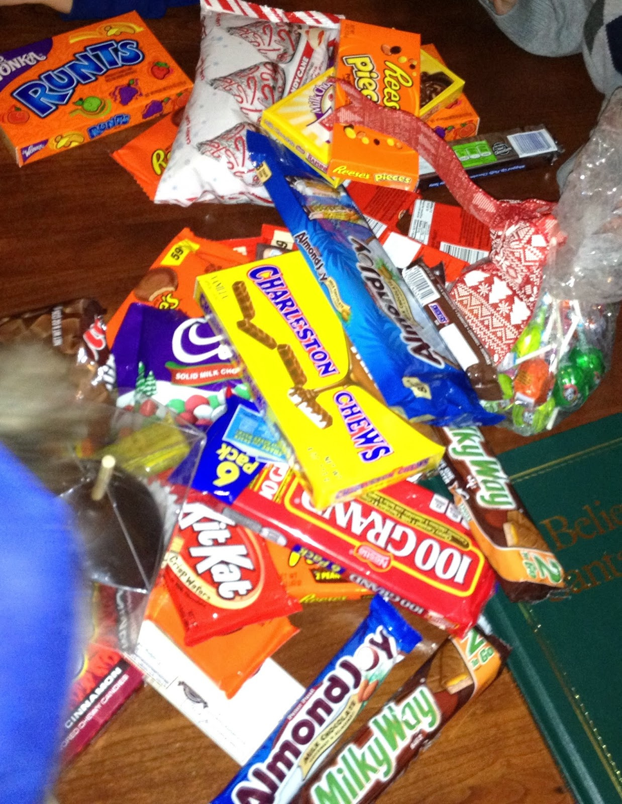 Christmas Candy Game  Christmas Eve Tradition The Candy Bar Game – Brooke