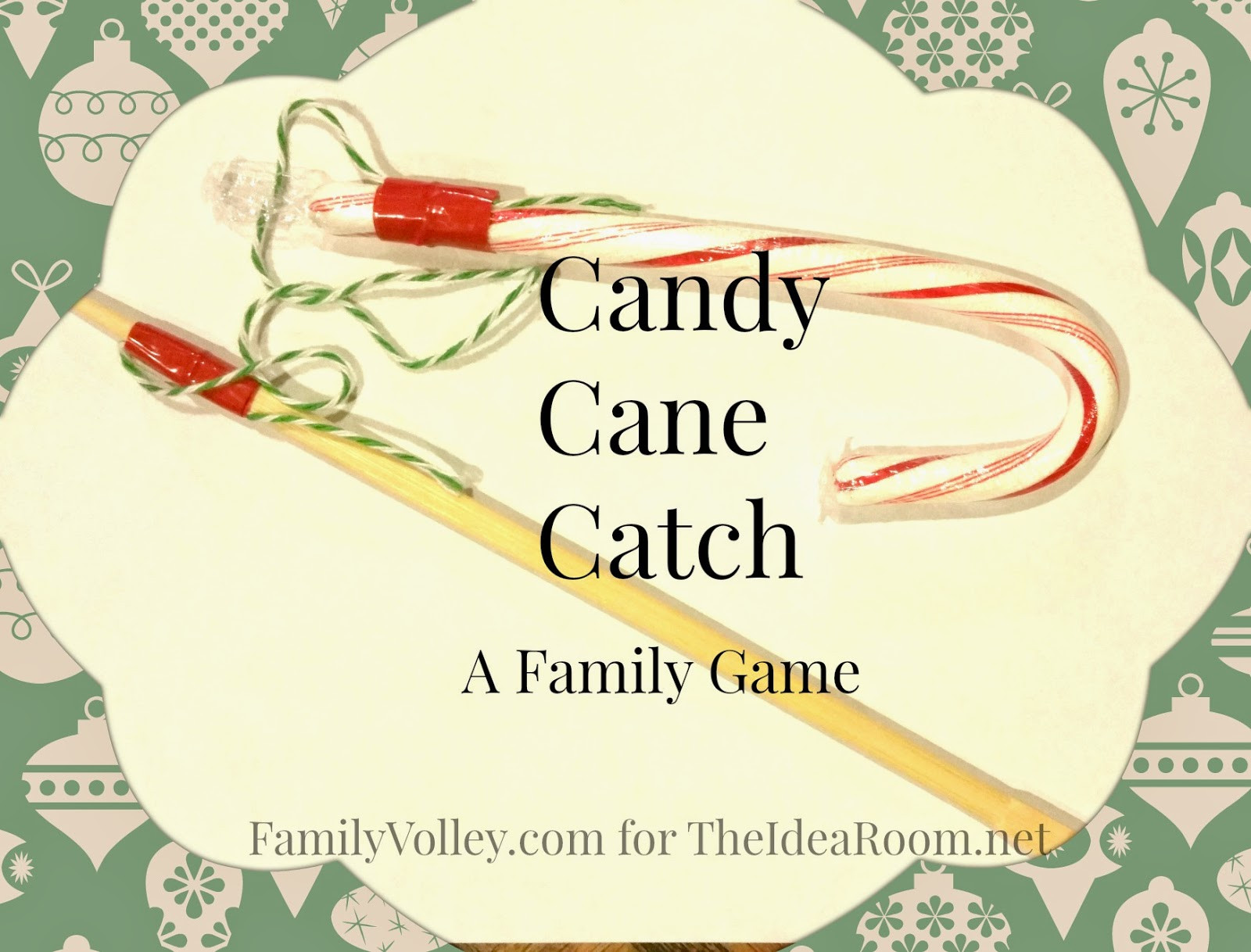 Christmas Candy Game  Holiday Game Candy Cane Catch The Idea Room