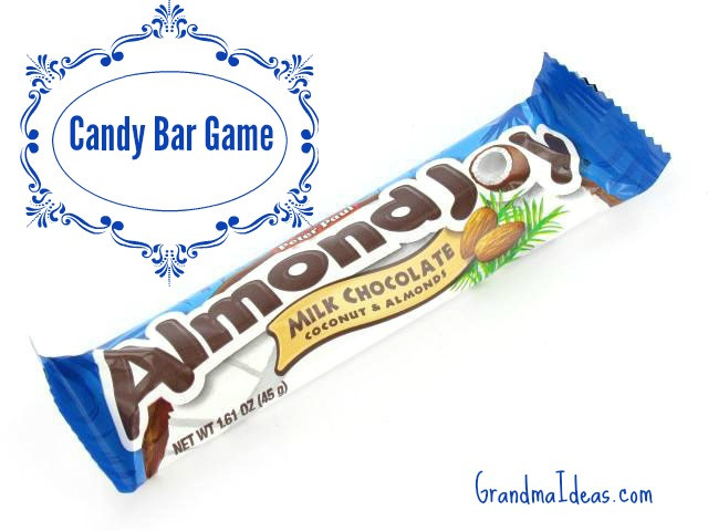 Christmas Candy Game  The Candy Bar Game Grandma Ideas