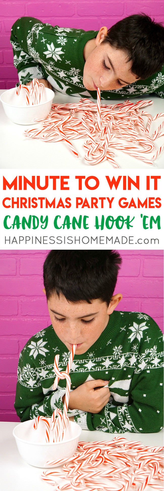 Christmas Candy Game  The 11 Best Christmas Party Games