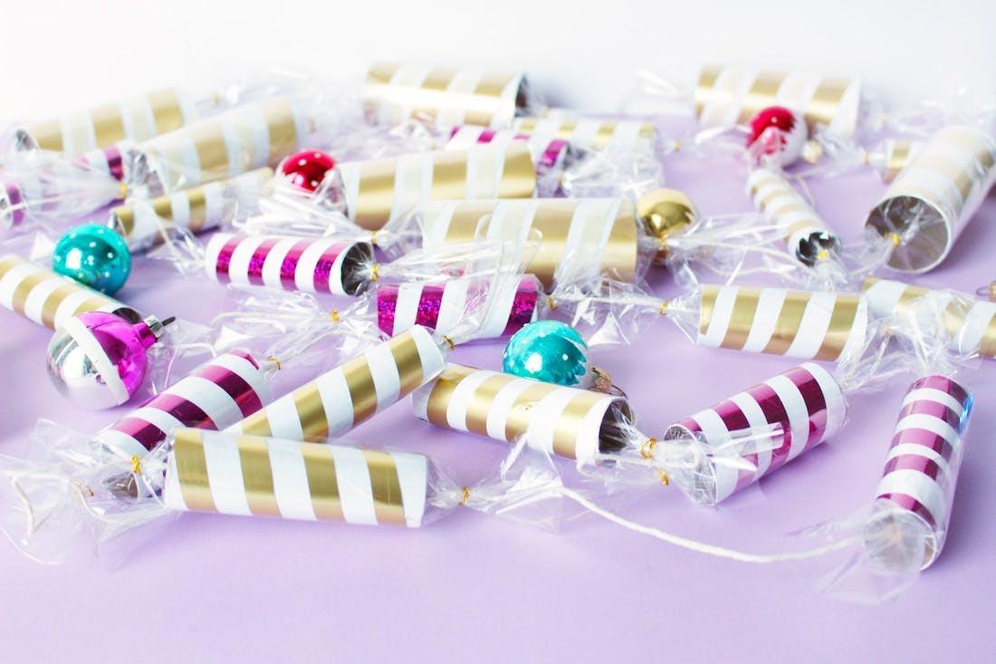 Christmas Candy Garland  How to Make Holiday Christmas Candy Garland