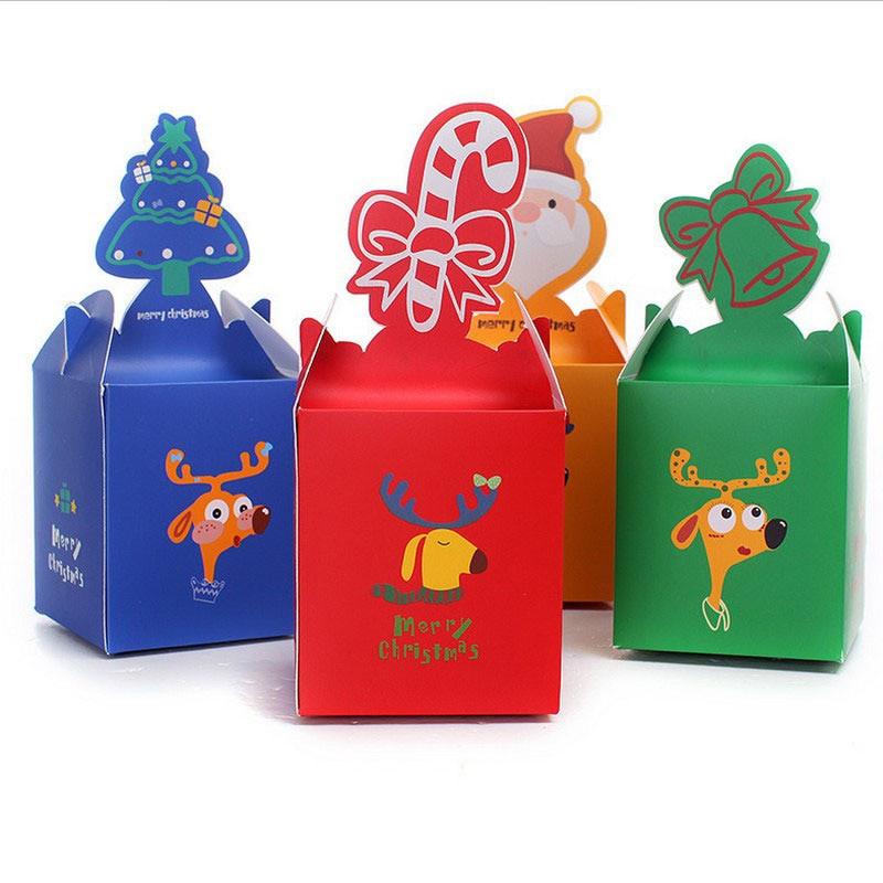 Christmas Candy Gift Boxes  50PCS Christmas box for ts chocolate Christmas